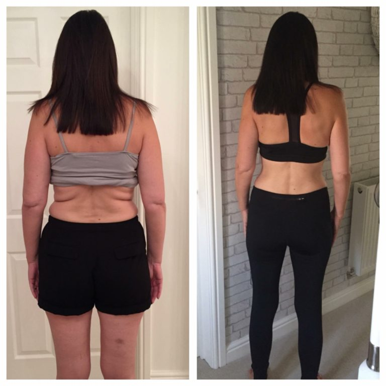 julie roberts before and after photo