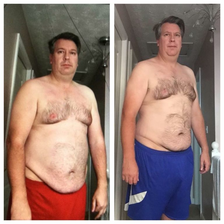 lee clarke before and after picture