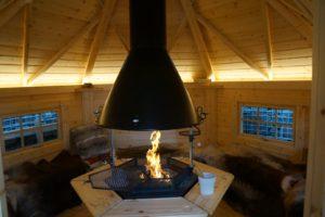 Reiki fire cabin